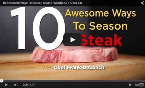 how to season a steak how to season a steak 10 ways the healthy honeys
