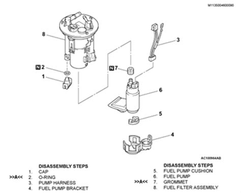 2002 mitsubishi lancer fuel filter questions with