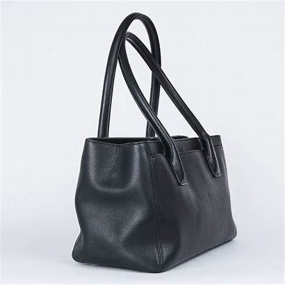 Grained Calfskin Chanel Tote Executive Bag Leather