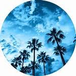 Aesthetic Sky Beach California Blueaesthetic Sticker Picsart