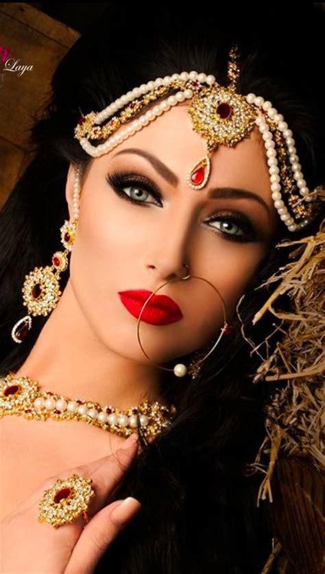 arabic bridal party wear makeup tutorial step  step tips