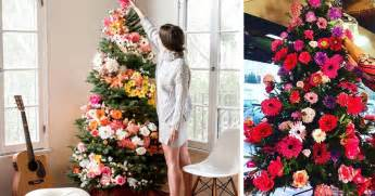 are decorating their trees with flowers and the results are beautiful bored panda