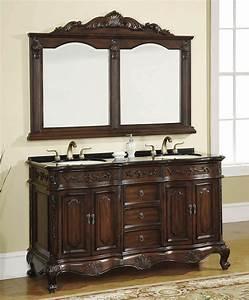 Bathroom design double sink bathroom vanities 50 64 for 50 inch double sink bathroom vanity