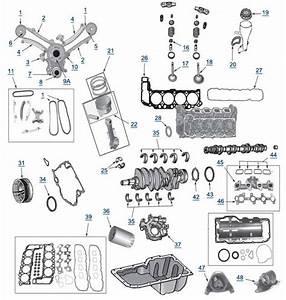 Jeep Wj Grand Cherokee 4 7l Engine Parts