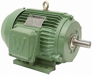 25 Hp 1800 Rpm 208 460 Volt Ac 3ph Prem Eff Motor