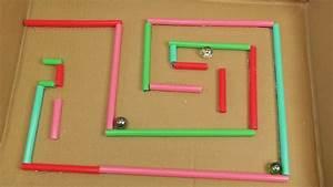Bauen Für Kinder : kugel labyrinth selber bauen basteln und spielen f r ~ Michelbontemps.com Haus und Dekorationen