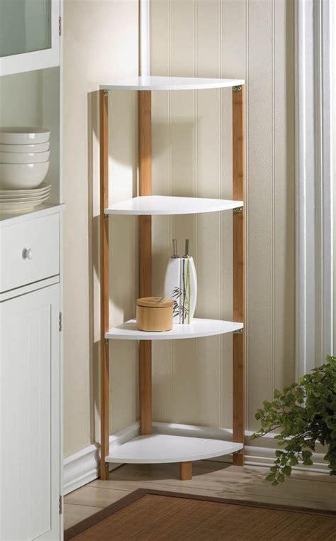 corner shelf tall corner shelves bathroom storage unit ebay