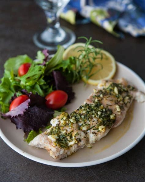grouper lemon rosemary recipes recipe eclecticrecipes eclectic