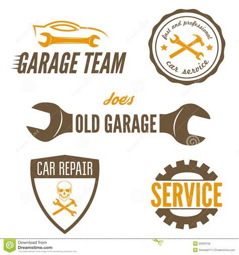 set of logo badge emblem and logotype element stock vector 52003102