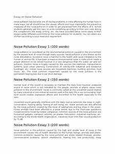 Example Of Comparing And Contrasting Essay Noise Pollution Essay In Hindi Pdf The Matrix Essay Under The Influence Essay also Essay On Starfish Noise Pollution Essay Writing A Proposal Example Noise Pollution  Death Penalty Pros And Cons Essay