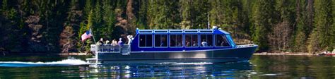Diablo Boat Lights by Seattle City Light Diablo Lake Boat Tours