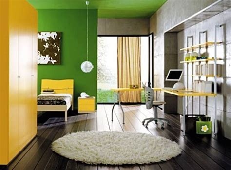 Yellow And Green Bedroom  Decor Ideasdecor Ideas