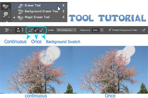 background eraser tool tooltutorial