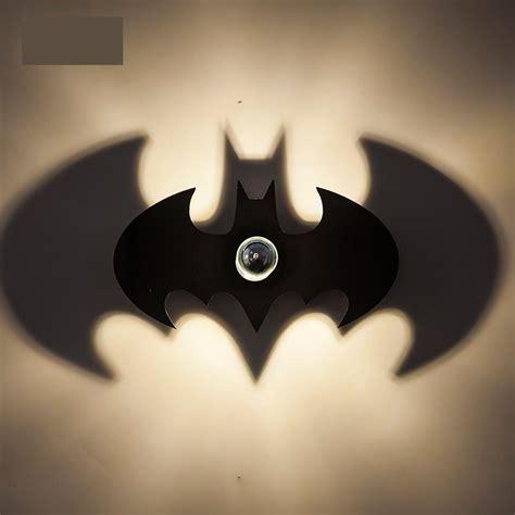 children room led batman light shadow wall sconce