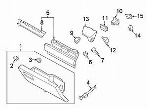 Ford Expedition Striker  Catch  Glove  Box  Door  Outer