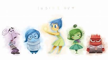 Fear Disgust Sadness Anger Inside Joy Pixar