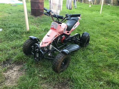 50cc quad for kids found here at a competitive price. Kids 50cc quad bike like new | in Uddingston, Glasgow | Gumtree
