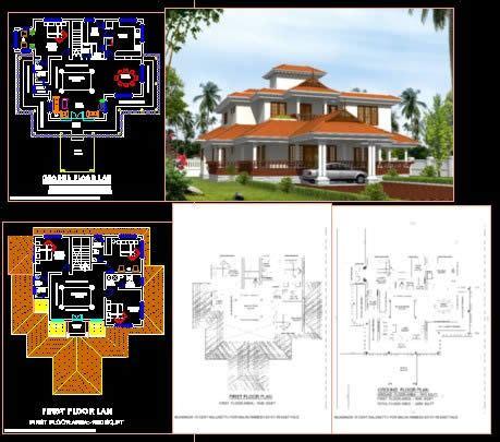 nalukettu dwg elevation  autocad designs cad