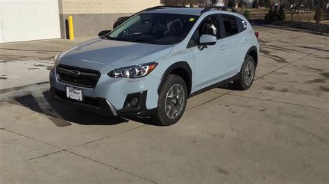 subaru crosstrek khaki grey youtube