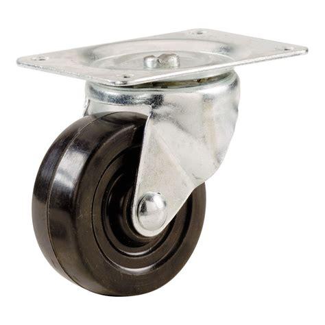 everbilt   rubber wheel swivel plate caster load