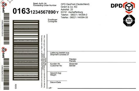 erklaerungen zum dpd paketaufkleber