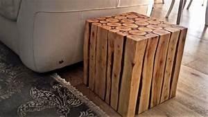 Pyramide Aus Holz Selber Bauen : beistelltisch aus holz selber bauen ~ Lizthompson.info Haus und Dekorationen