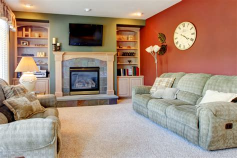 using warm paint colors to brighten up a dull season a g