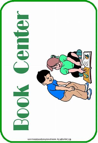 Preschool Center Signs Centers Learning Preschoolprintables Clip
