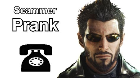 Adam Jensen Calls Indian Tech Support Scammers Probably