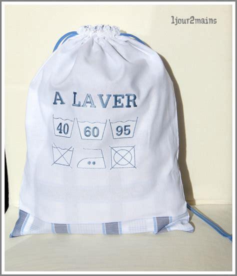 sac pour linge sale sac 224 linge pour homme 1 jour 2mains hmb cr 233 ations