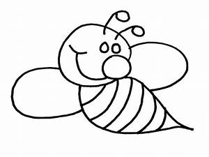 Honey Bee Queen Cute Coloring Pages Womanmate - Bumble Bee ...
