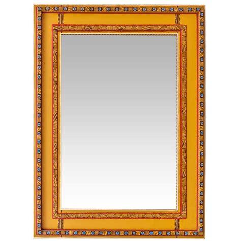 painted wooden mirrors tribal mirror kar