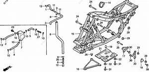 Honda Atv 1996 Oem Parts Diagram For Frame