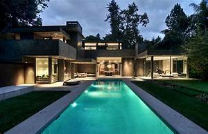 Modern, Dream, Home, Surrounded, By, Forest