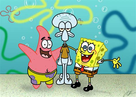 Spongebob Squarepants Friends