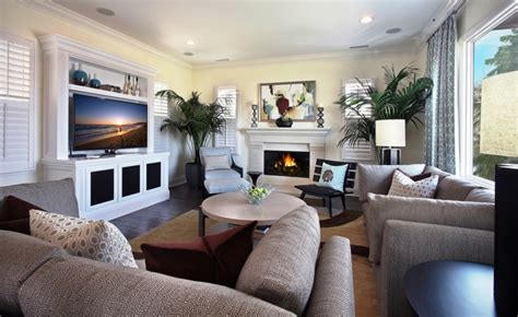 living room paint colors with fireplace and tv on