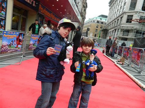 postman pat the hag con at the world premiere
