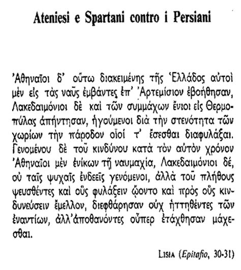 Spartani Contro Persiani by Ateniesi E Spartani Contro I Persiani