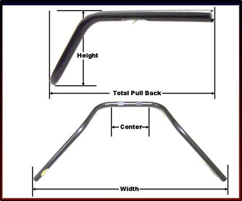 Stock Motorcycle Handlebar Measurements, Cruisers