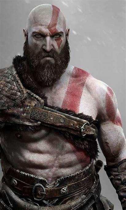 God War Kratos Wallpapers Iphone Android 4k