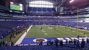 Lucas Oil Stadium Section 102 Indianapolis Colts