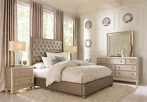 Sofia vergara paris gray 5 pc queen bedroom bedroom sets for Sofia vergara bedroom furniture