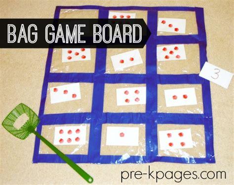 ziploc quilt counting preschool kindergarten 421 | ziploc bag game board