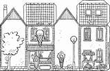 Ice Cream Parlour Own Colouring Kiddicolour Drawing Shops sketch template