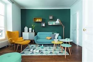 le style scandinave s39invite chez maisons du monde hello With meuble de salle a manger avec tapis jaune scandinave