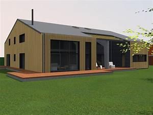 Renovation Hangar En Habitation : transformation d un hangar en loft amiot arnoux architectes ~ Nature-et-papiers.com Idées de Décoration
