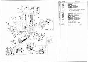 Parts Diagram For Dellorto Phm Carburetors - Dellorto Carburetors - Topics