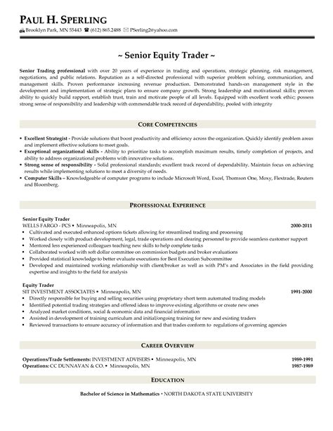 cover letter for equity trader position