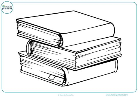 Dibujos de Libros para Colorear ¡Animados y Divertidos