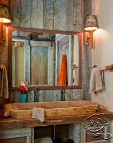 rustic bathroom ideas with unique design this for all